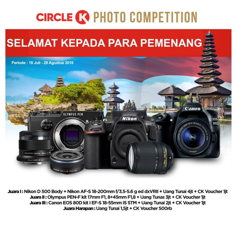 Road Show CK Photo Competition With CK Coffee At Bali