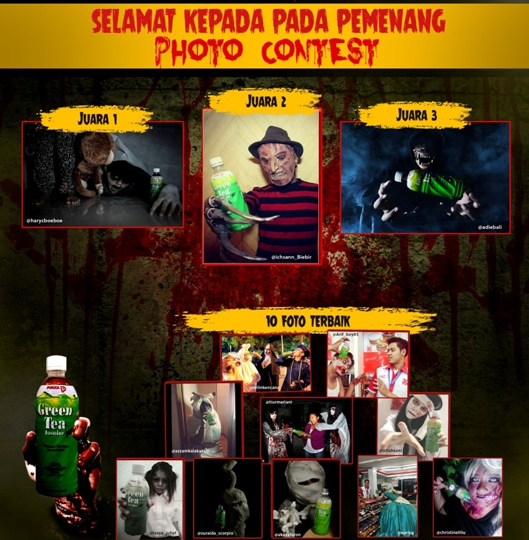 PEMENANG HALLOWEN CK PHOTO CONTEST