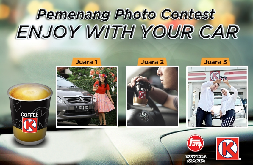 PEMENANG PHOTO CONTEST ENJOY WITH YOUR CAR