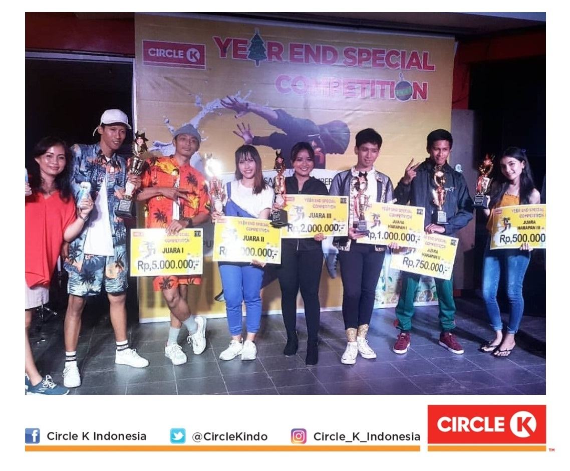 Pemenang YUZU Year End Special Dance Competition 2018